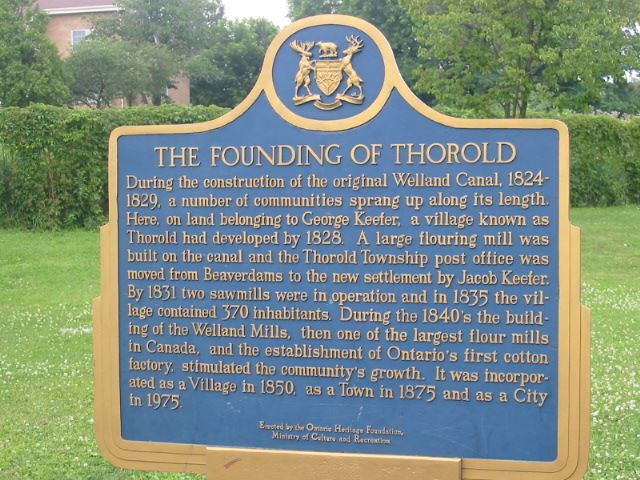 founding_of_thorold